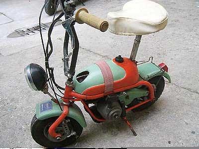 Mini Marcellino modelo Italiano, Primera Serie con arranque a cuerda