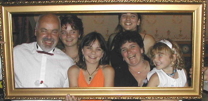 Familie Spies im 2004