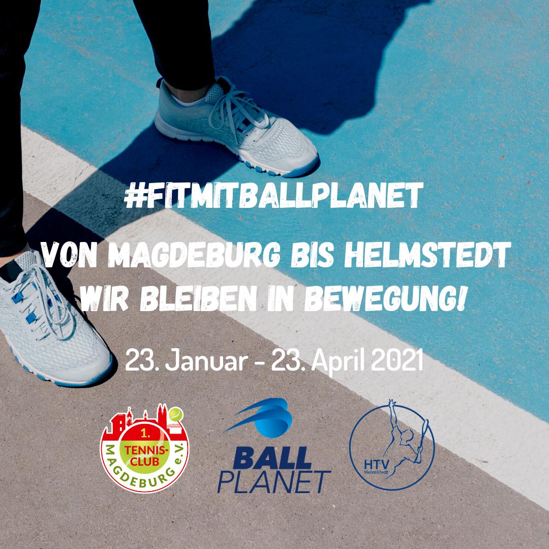 #fitmitballplanet: Von Magdeburg bis Helmstedt - Wir bleiben in Bewegung!