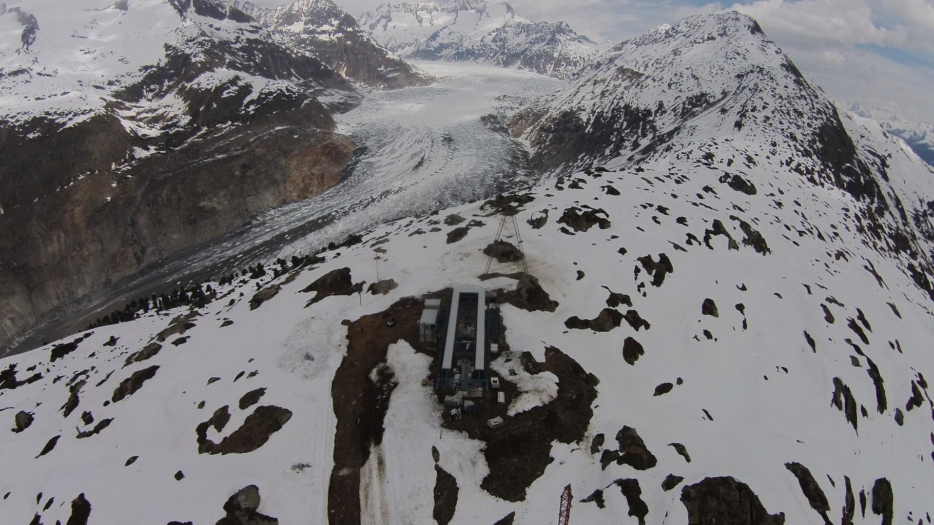 Bergstation Seilbahn
