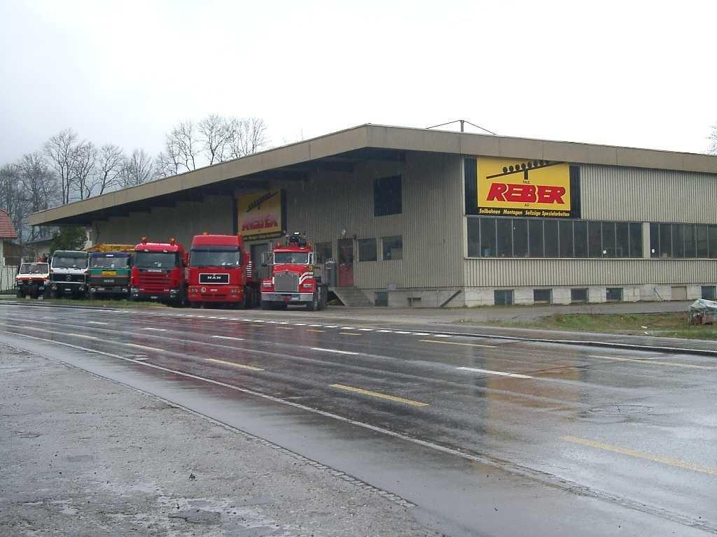 Werkhof der Paul Reber AG in Schüpfheim LU, Schweiz