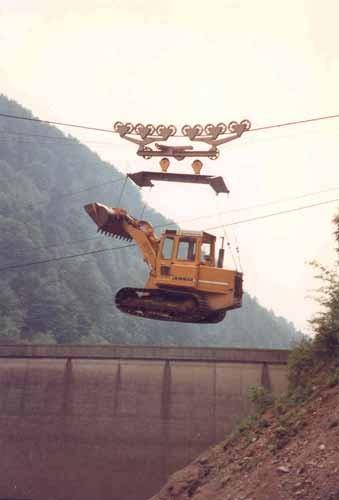 Materialseilbahn