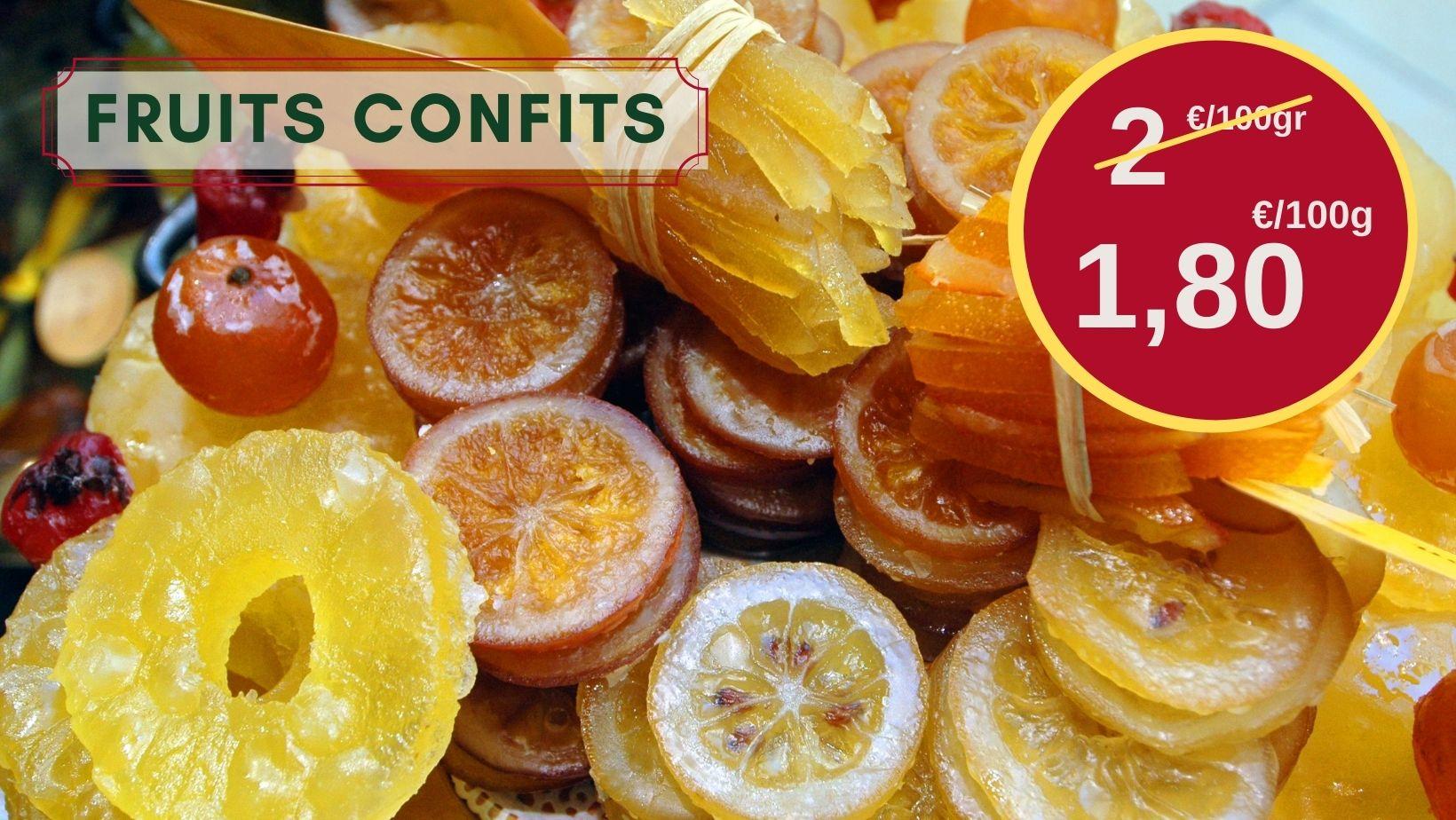 Recettes : osez les fruits confits !