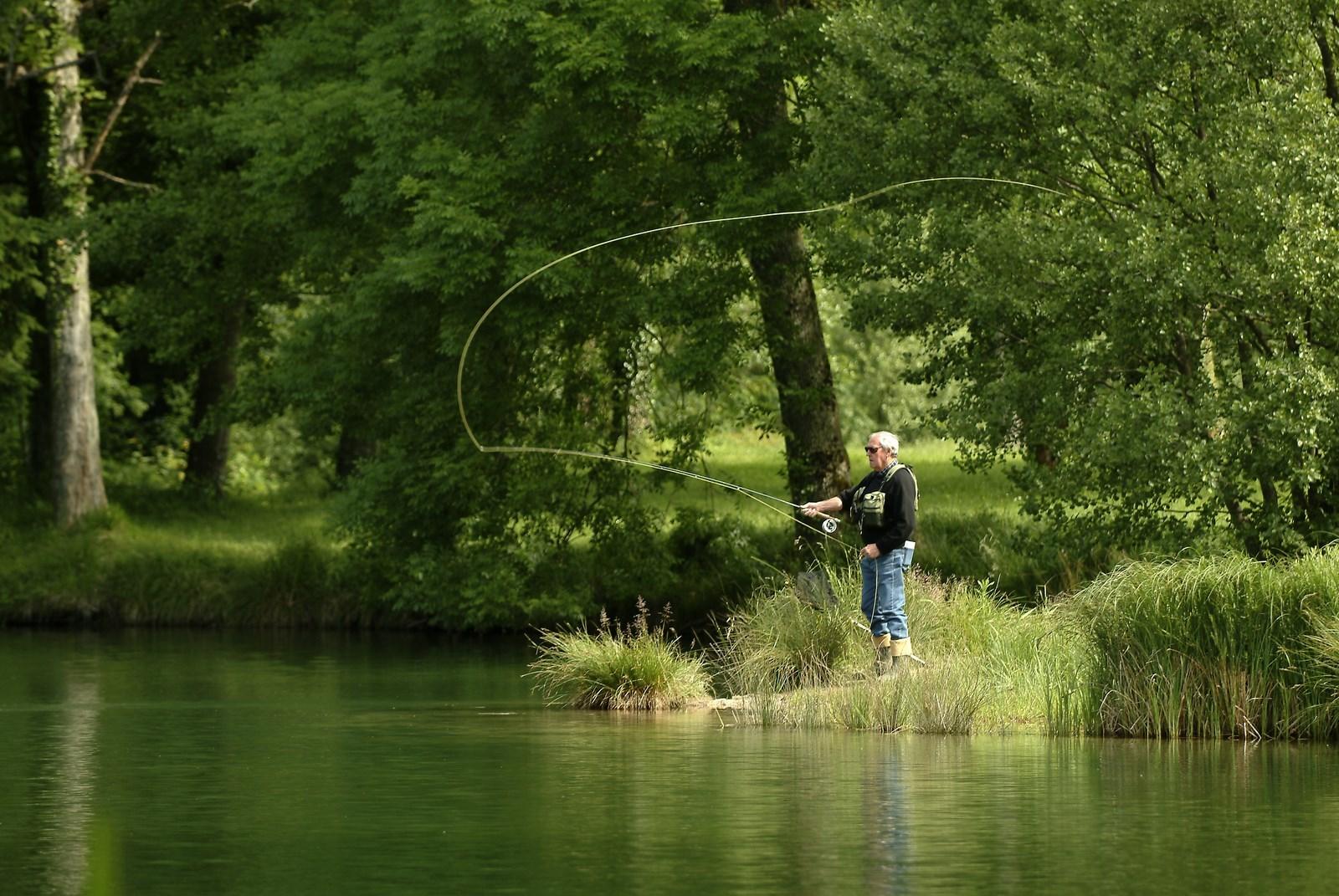 Pêche à la mouche en Meuse - Michel Petit