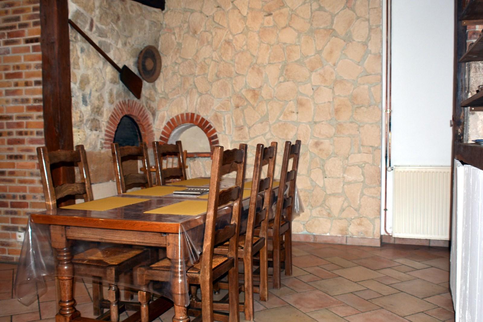 Salle à manger - Gîte en Argonne - Proche Verdun
