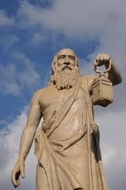 il saggio Diogene girava con la lanterna perché era uno che amava vederci chiaro .