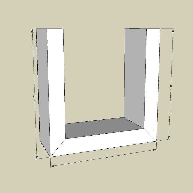 Indirekte Beleuchtung Gipskarton Elegant Abgehangte Decken: U-Profil / 95 Cm