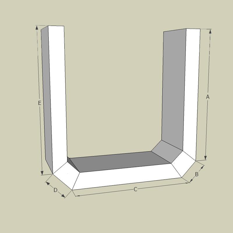 Indirekte Beleuchtung Gipskarton Elegant Abgehangte Decken: U-Schale / 95 Cm