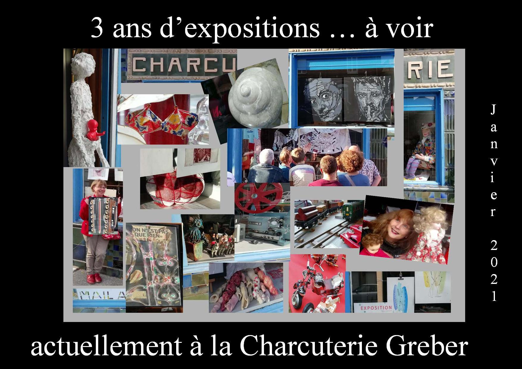 Déjà 3 ans et 21 expositions !