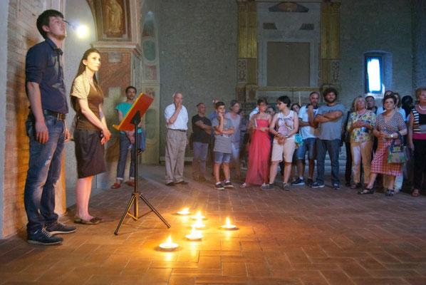 Show in Santa Maria delle Grazie