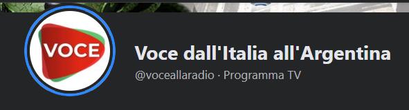 """Intervista a """"Voce dall'Italia all'Argentina"""""""