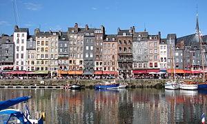 Alter Hafen von Honfleur (Bildquelle: Wikipedia)