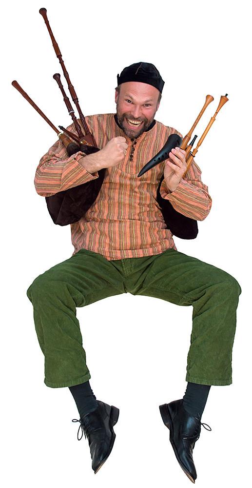 Tilman John: Flöte, Rauschpfeife, Schäferpfeife, Hümmelchen, Gesang