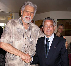 Dr John Thie et George Goodheart
