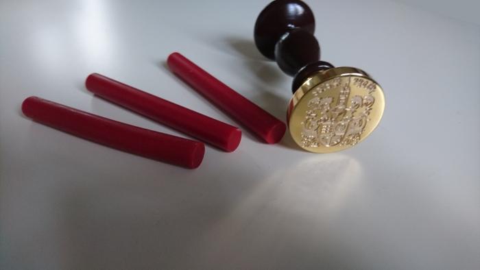 Siegelstempel mit Wappen