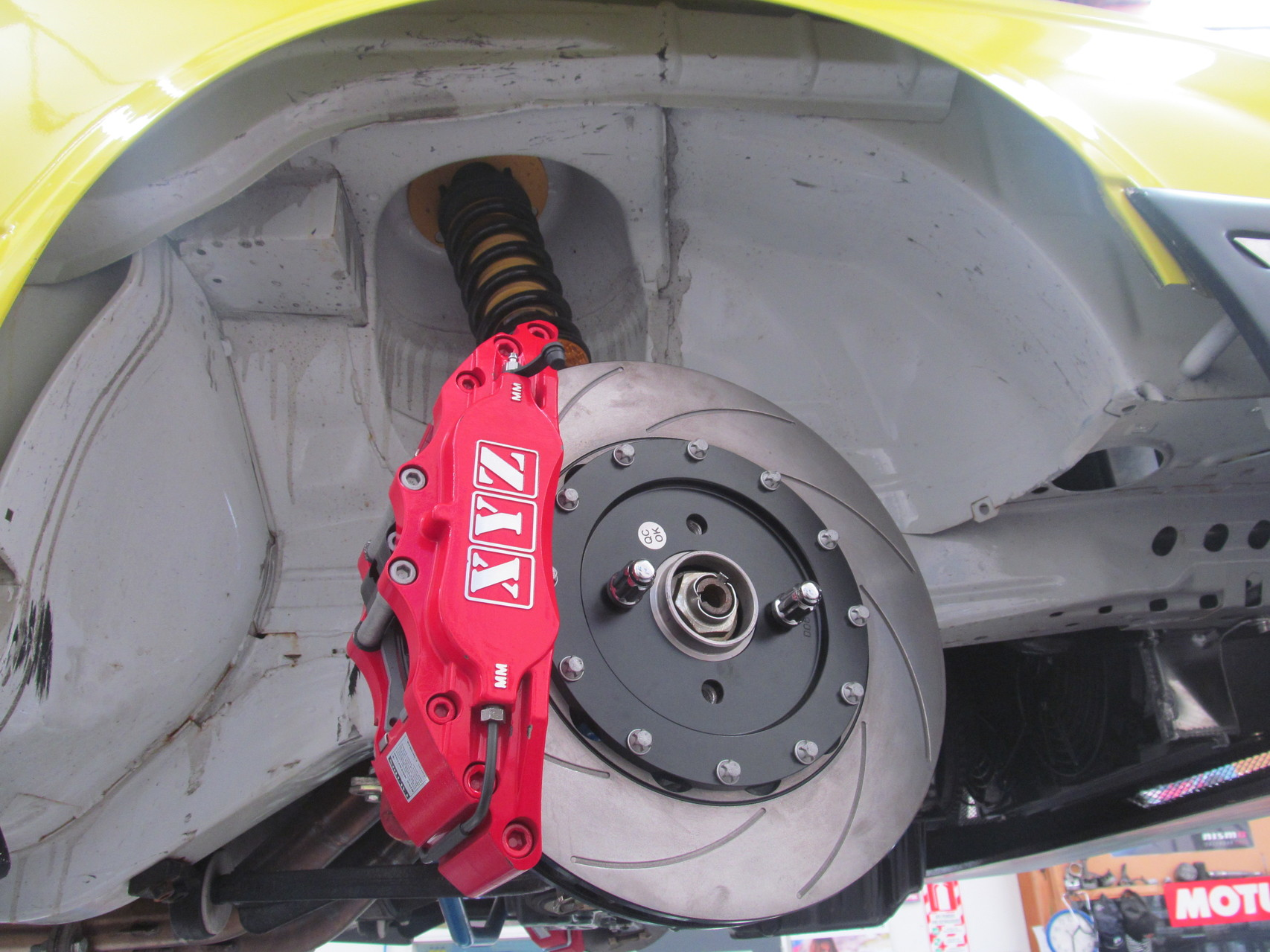 BMW XYZ brake kit