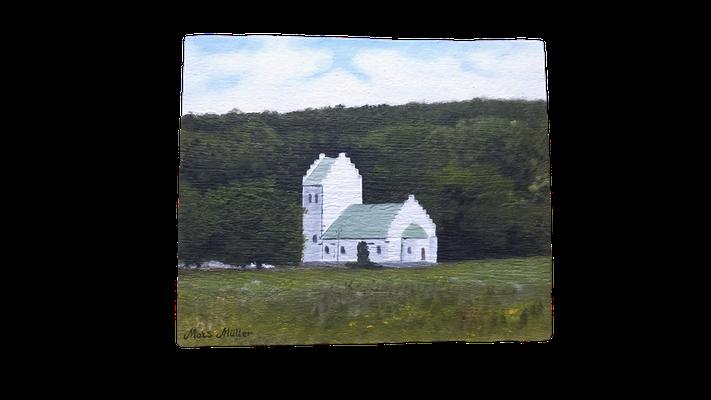 MatsMüller, Mölle kapell, 24x20cm