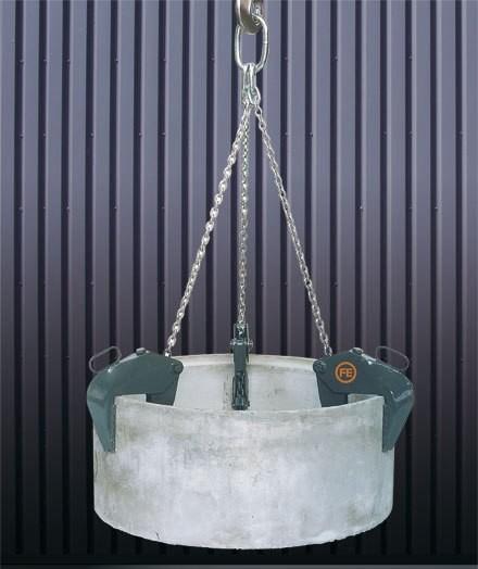 Pinza de garras para tubos y pozos 1061