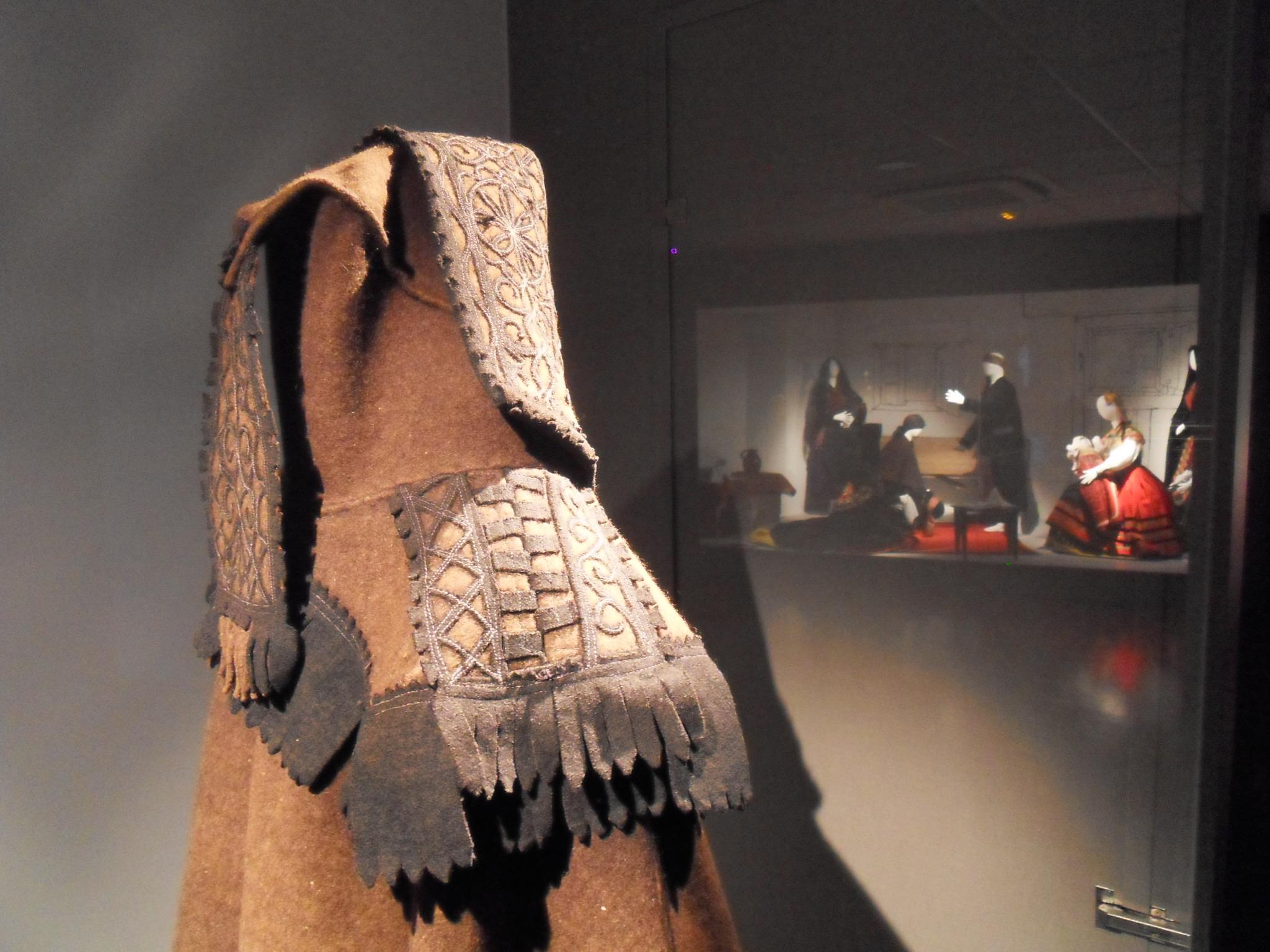 Pieza invitada año 2013: la capa de chiva alistana