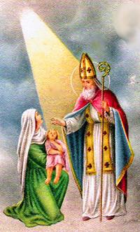 S.Biagio salva miracolosamente un bambino dal soffocamento