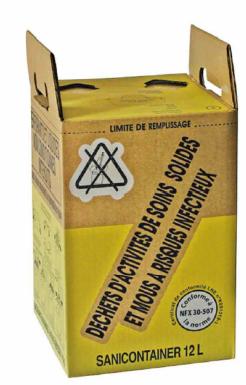 Carton 12 L (existe en format 25 L et 50 L)