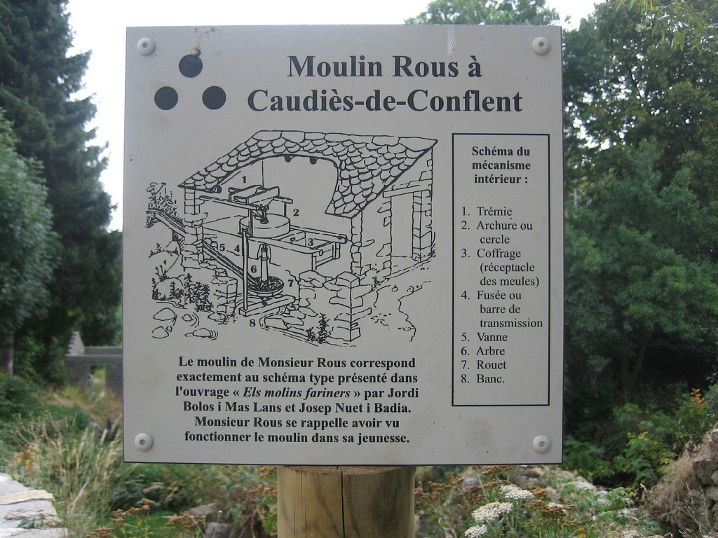 Moulin à Caudiès