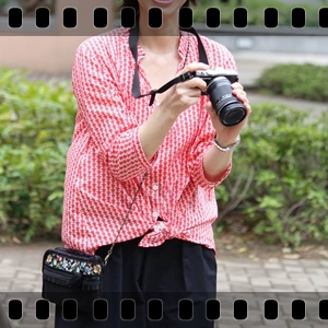 カメラ女子に