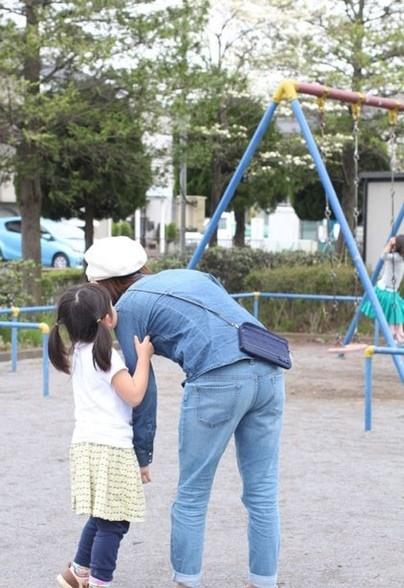 ママと子どもの公園遊びにお財布ショルダー|ラベンダーサシェ