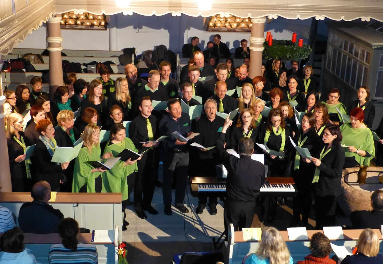 Der Gospel-Workshop-Chor