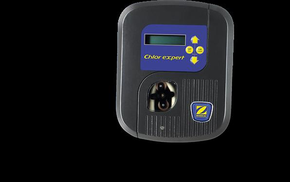 Régulateur au chlore Redox automatique ZODIAC. Chlor Expert, la régulation automatique de chlore pour une eau parfaitement désinfectée en permanence.
