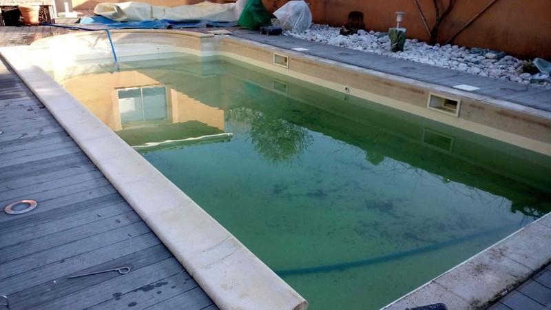 Avant rénovation piscine à Montauban (82000)
