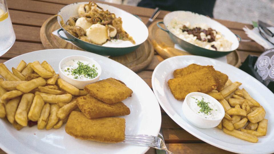 Slowakisches Essen Bratislava