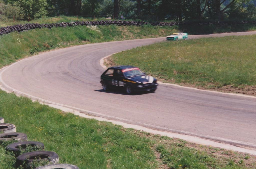 100 Runden Lignières mit Ford Fiesta Spezial