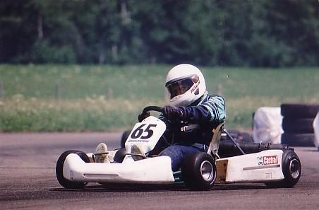 Patrizia Balmer, Kart Berner Meisterschaft St. Stephan 1998