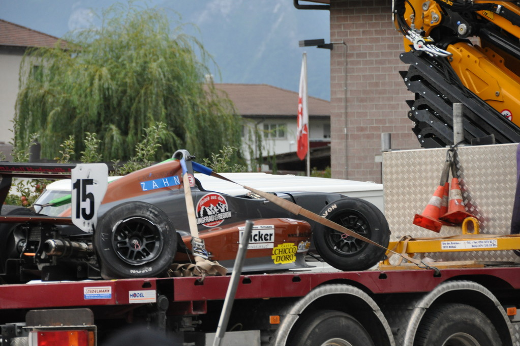 Crash am Sonntag... :-(