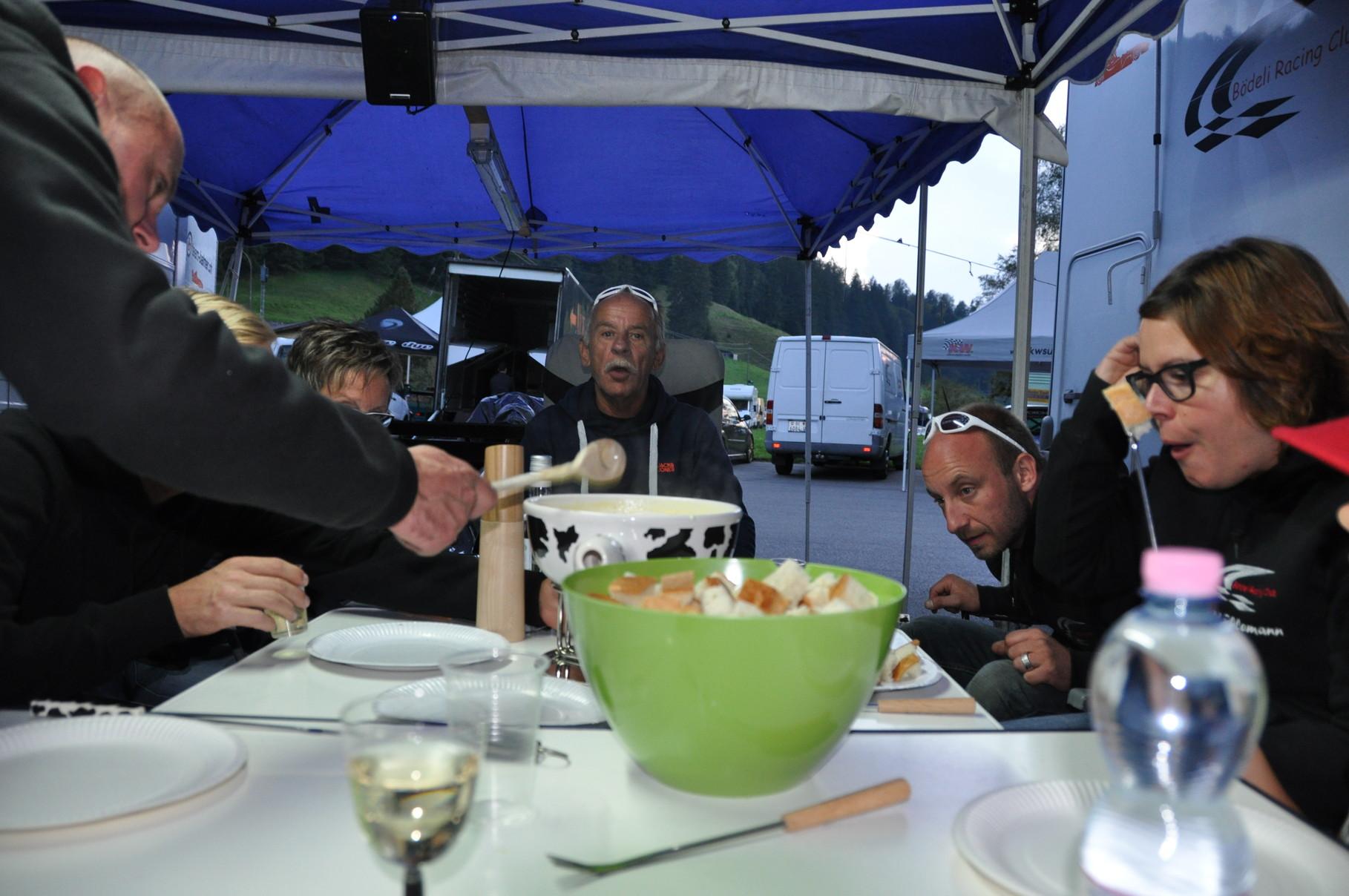 Fondu-Plausch mit Mühlemann Motorsport