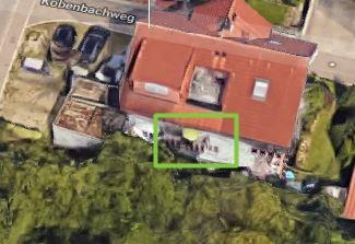 Lage Zwetschgen-Wohnung im Ferienhaus Mina