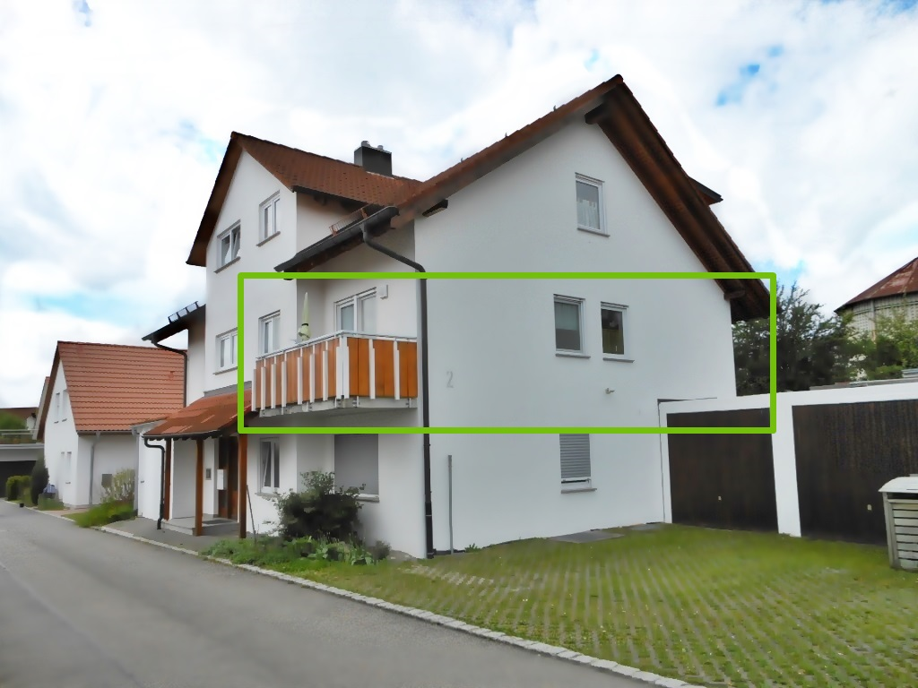 Lage Kirschen-Wohnung im Ferienhaus Mina