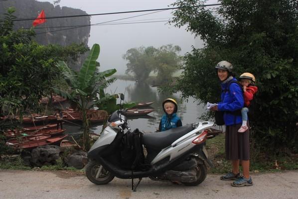 Transport vietnamien ... la moto !
