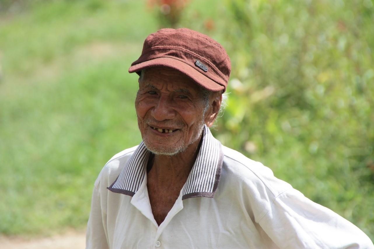 Tomas le grand père de 95 ans !