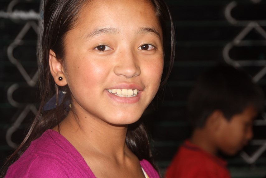 Anjali, 14 ans