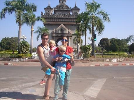 Patuxai ou l'arc de triomphe laotien