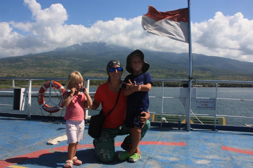 Départ de Lombok