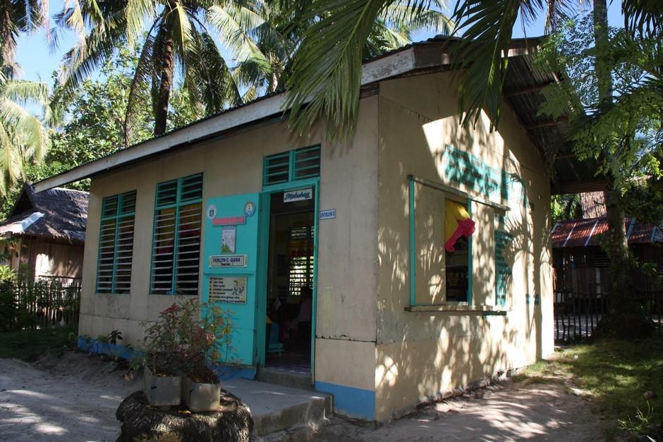 Ecole de Daku Island : 2 classes, de deux niveaux chacune