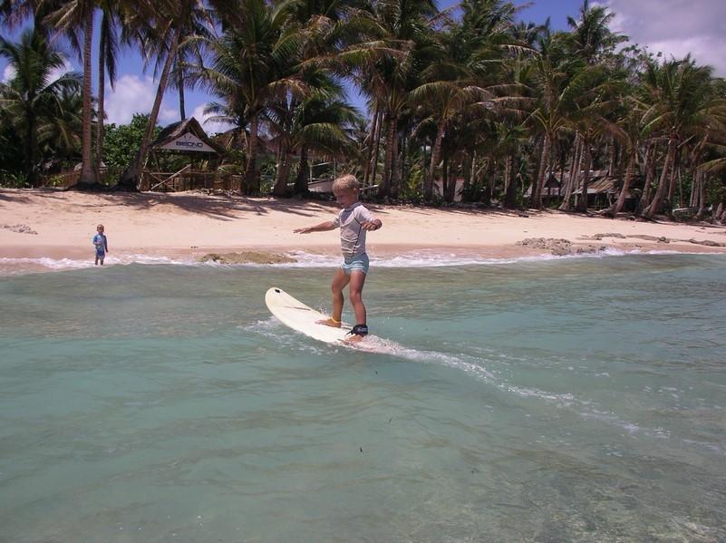 Cours de surf avec Mael - position 4