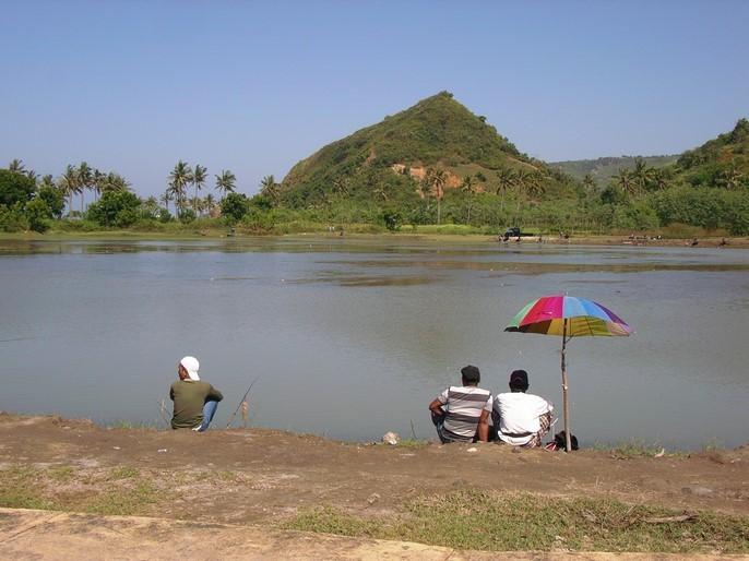 Le dimanche à Kuta ... ça pêche !
