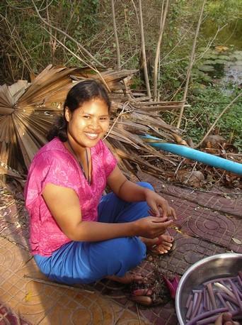 Notre hôte khmer