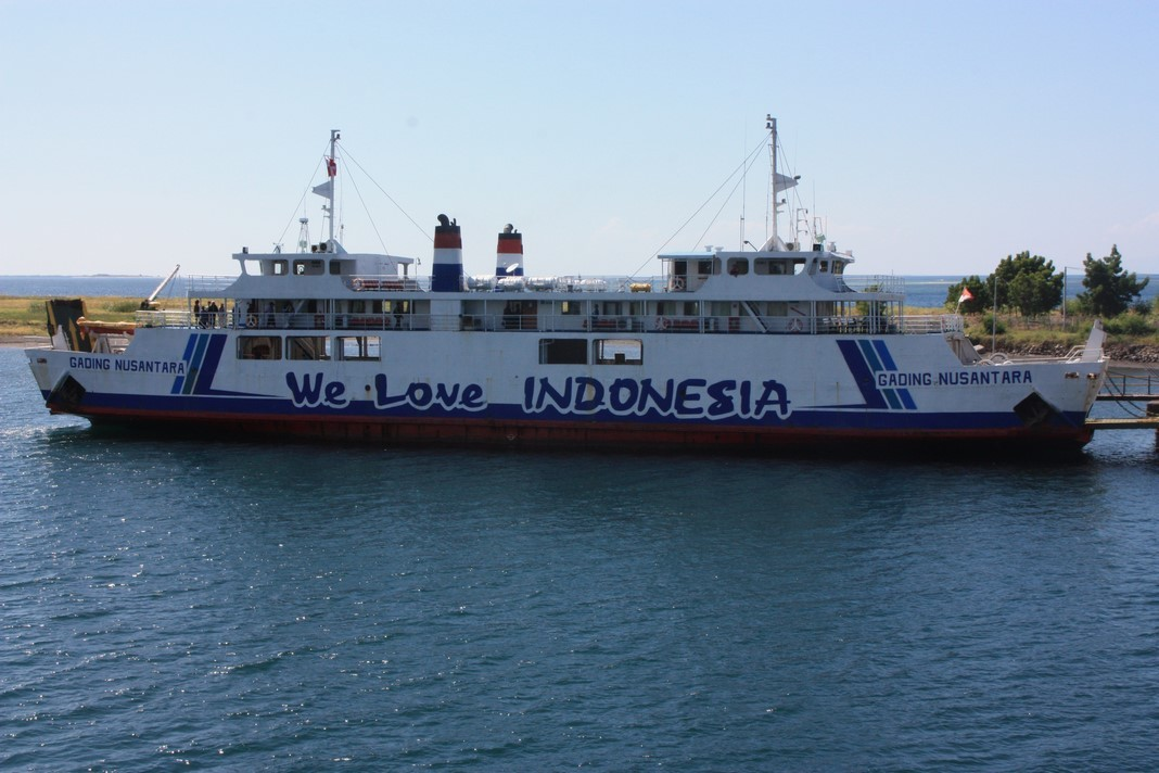 We love Indonesia ... en ferry