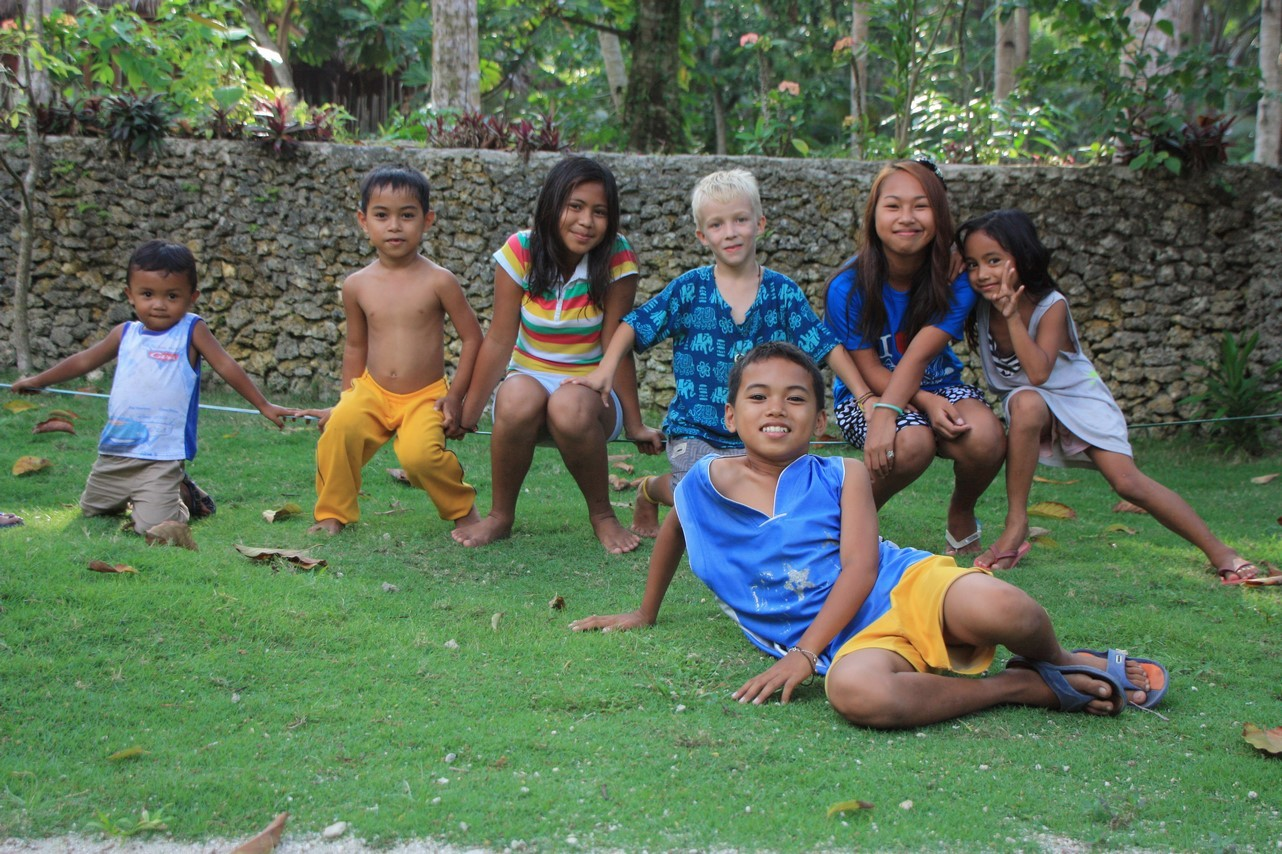 Retrouvailles avec les enfants de Grace et Mael