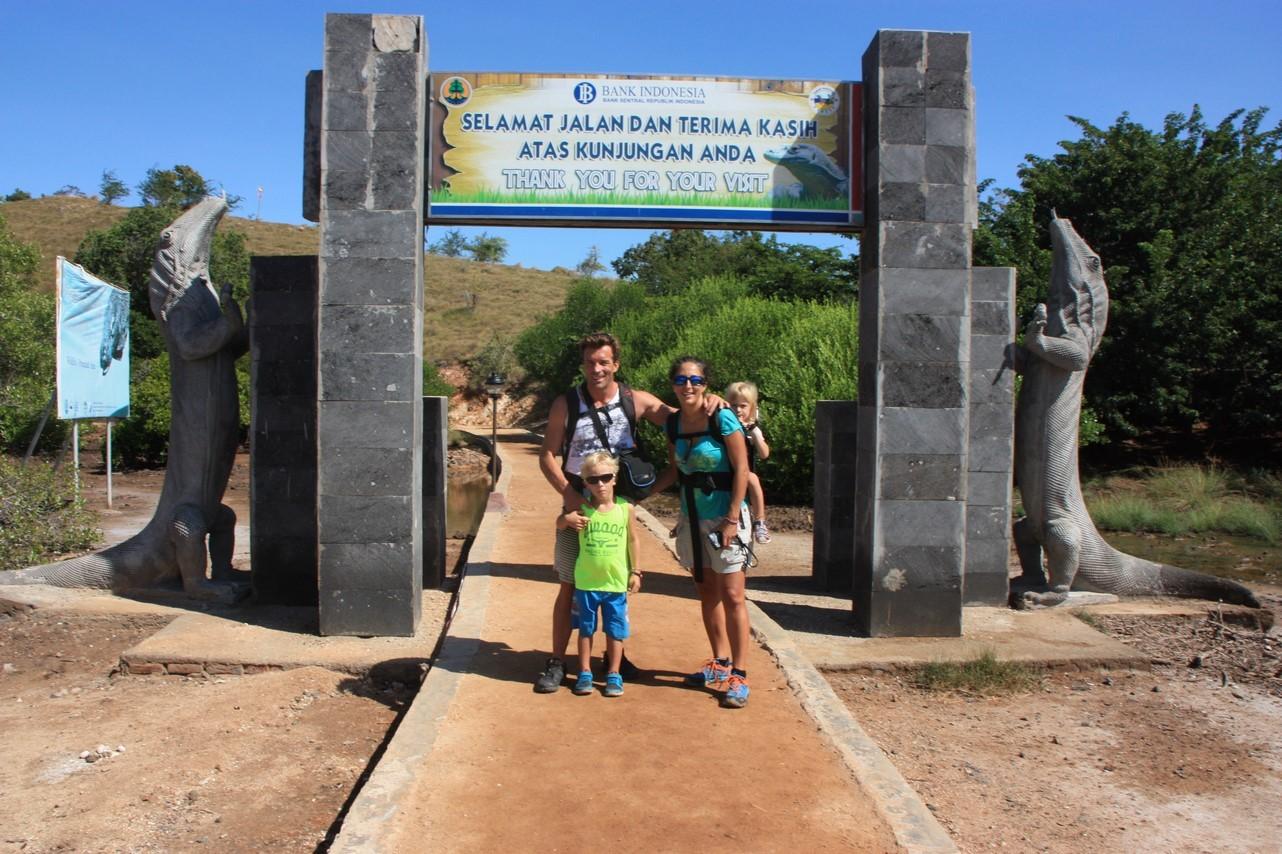 Entrée de le Parc National de Komodo